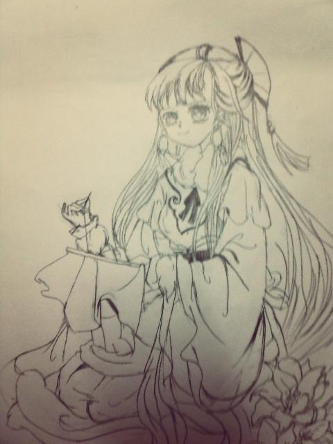 【柔猫手绘】