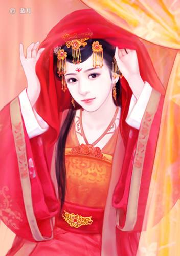 美腻的古代美女手绘,求抱走.