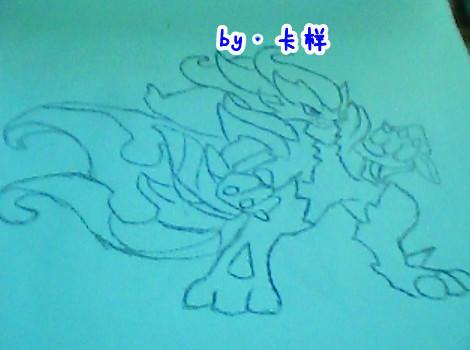 【卡样】奥奇精灵手绘图