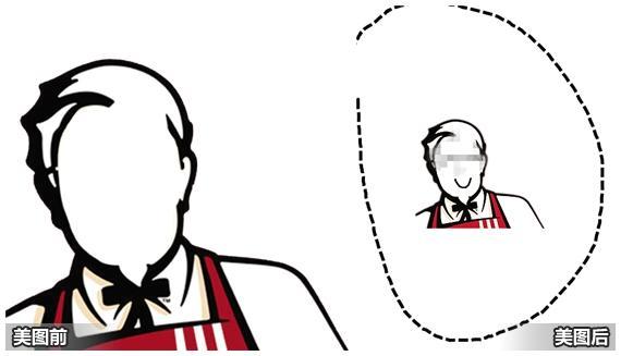 肯德基餐厅手绘