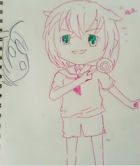 儿童画 简笔画 手绘 线稿 447_530