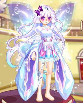 【嗜血族·紫翼】古风服装比赛图片