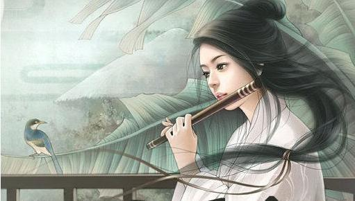 美腻的古代美女手绘,求抱走