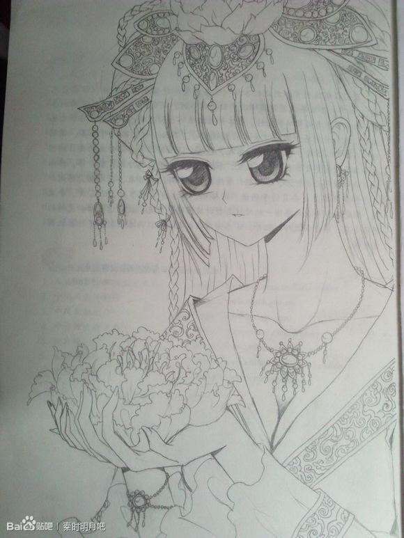 【金奈】【转】手绘古装美女