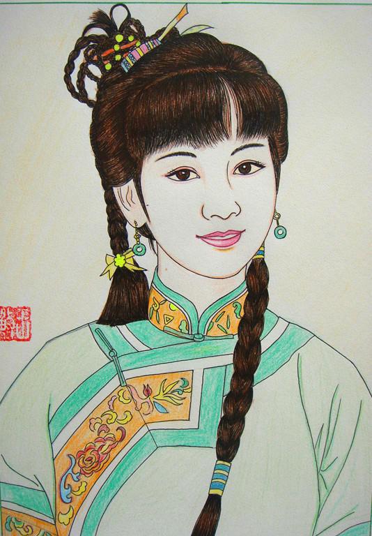 【馒头】百位女星古装手绘对比图