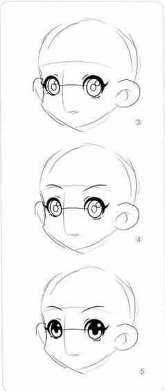 【爱魂】[转]q版动漫人物画法