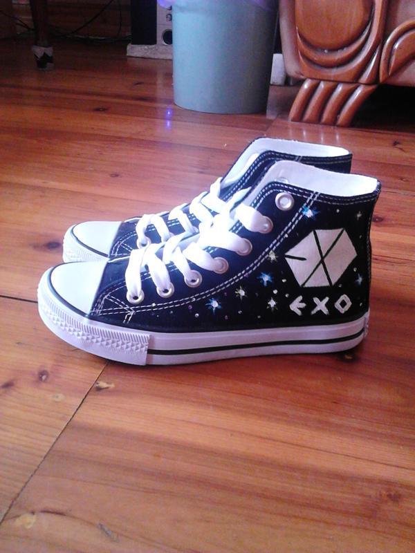 exo穿的篮球鞋