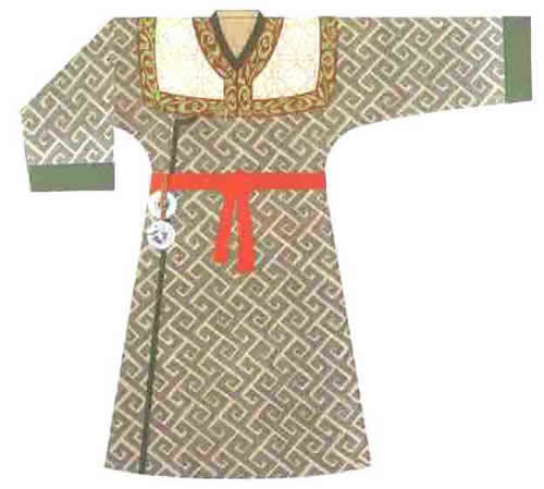 理】古代男子服饰图片