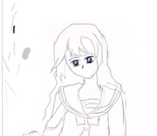 海贼王6娜美简笔画步骤