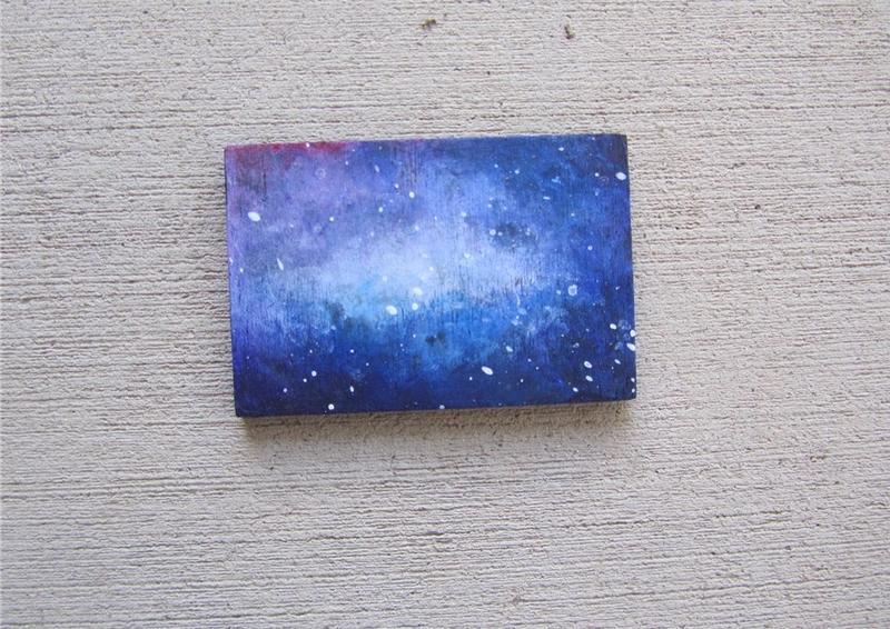 【夏天】各种原创手绘星空图,可能有教程