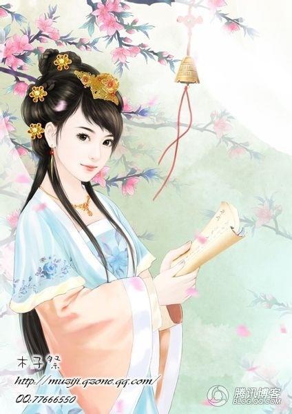 【丹青】古代女子丹青,随便你拿走嘞_百田后宫圈