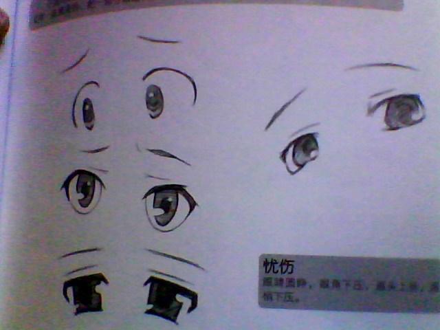 画-男生动漫眼睛的画法-动漫可爱的眼睛怎么画-超可爱动漫眼睛画法图片