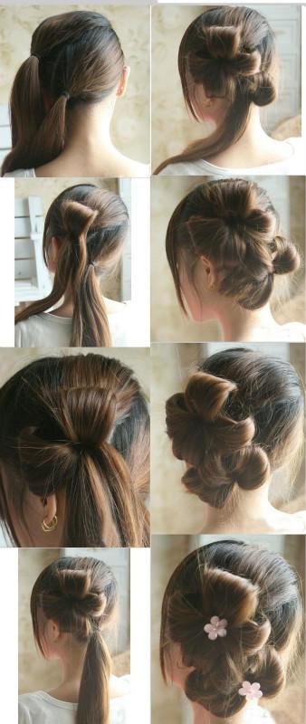 【转】凌纸教你漂亮头发的编法