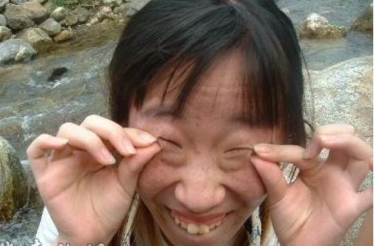 中国最最最最最最最丑的女人,凤姐算个鸟