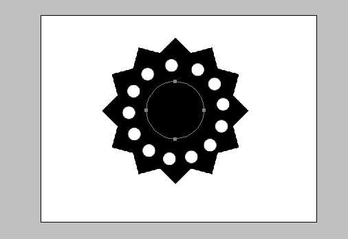 如上次画的圆形路径一样,我们用钢笔画一个椭圆路径(按住shift防止图片