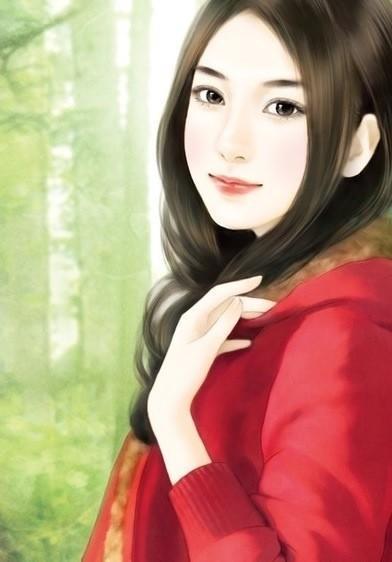 【九九】手绘现代美女