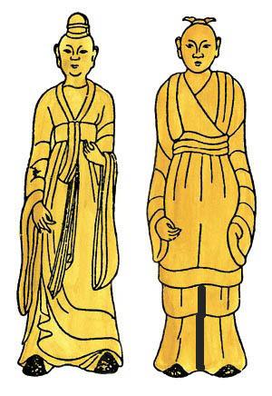 北魏鲜卑族服饰在中国古代服饰发展史中的地位图片