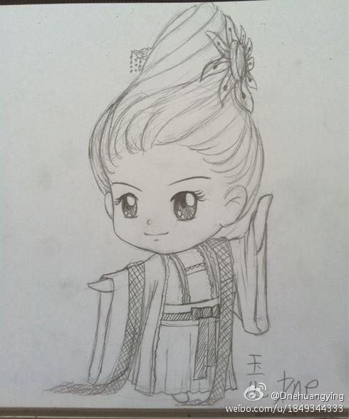 宝q版手绘卡通图