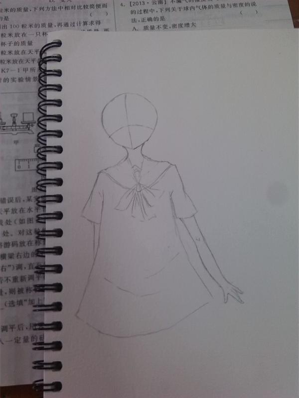鹿晗素描教学步骤画脸