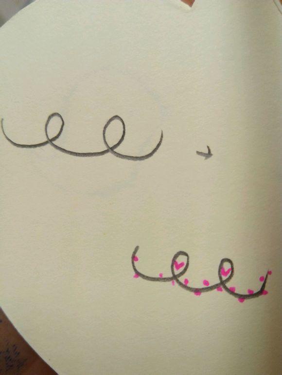 生 教你画一些简单的花边简笔画