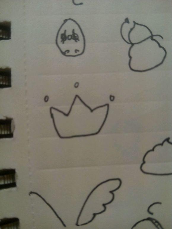 『女生』教你画一些简单的花边简笔画