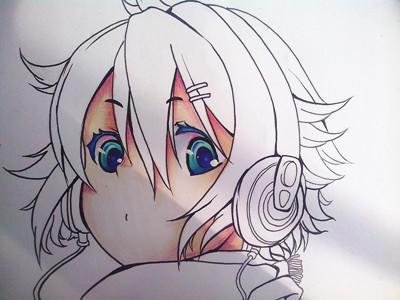 【小紫】马克笔 手绘动漫教程