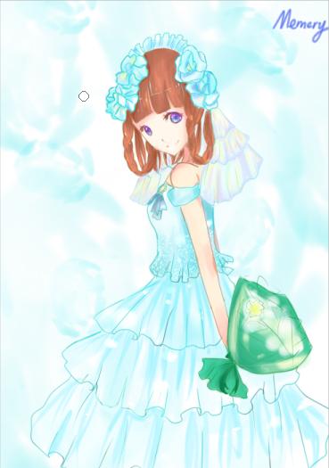 幺菇奥比岛板绘秀作品--奥比童话公主