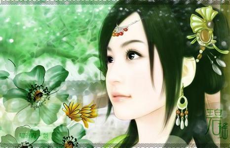 古代美女丹青_百田奥比岛圈