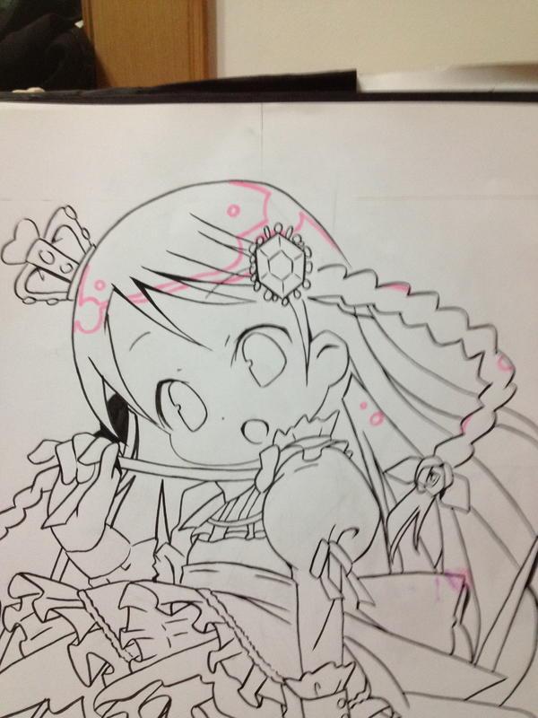 【虹蝶】想学手绘q版的孩子戳进