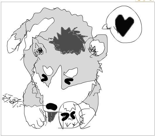 动漫 简笔画 卡通 漫画 手绘 头像 线稿 530_464