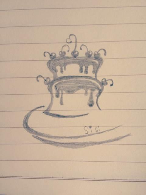 【米苏】转 tc^教你画一些简单的花边简笔画