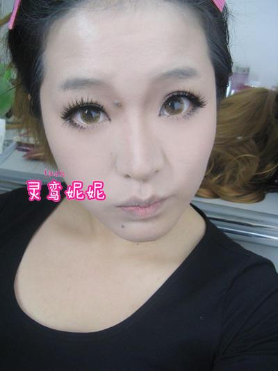 网络丑女变美女的化妆过程