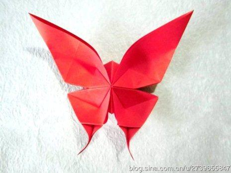 风筝折纸步骤图片