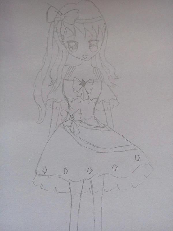 【蓝蓝】原创手绘十二星座少女图