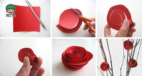 玉遥- 玫瑰花折纸大全