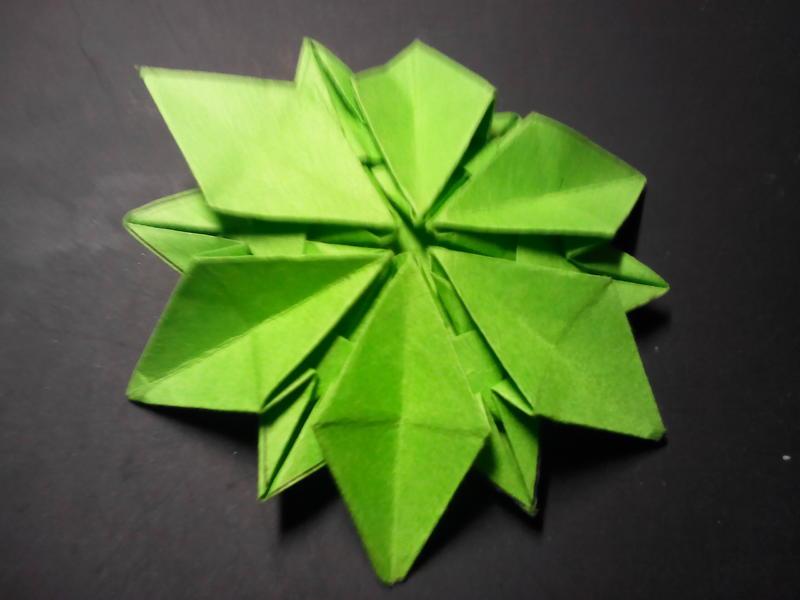 折纸手工树叶制作大全图片步骤