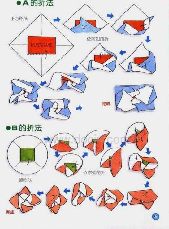 折纸圆圈图片步骤