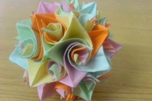 【转】【子稽】教你叠各种折纸,玫瑰莲花灯雪花樱花