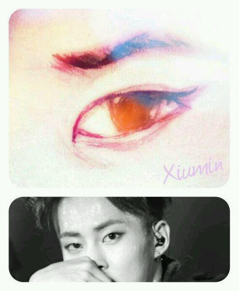 【安浅沫】exo|手绘眼部