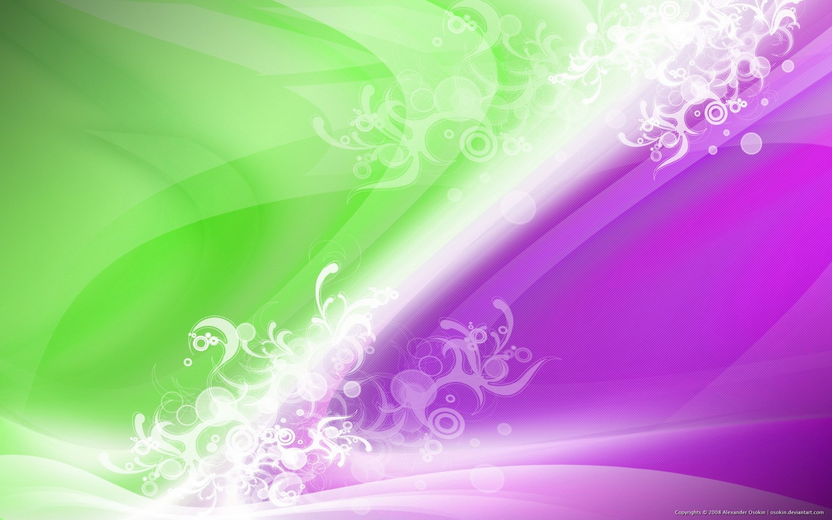 Purple And Green Bathroom